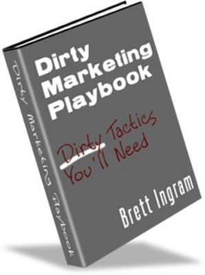Product picture Dirty Marketing Playbook- Make More Money
